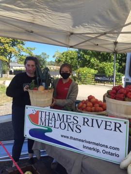 Thames River Melons - LFM vendors Sept 1