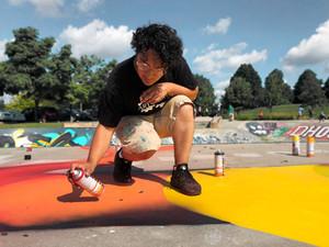 Graffiti: Art on the Line