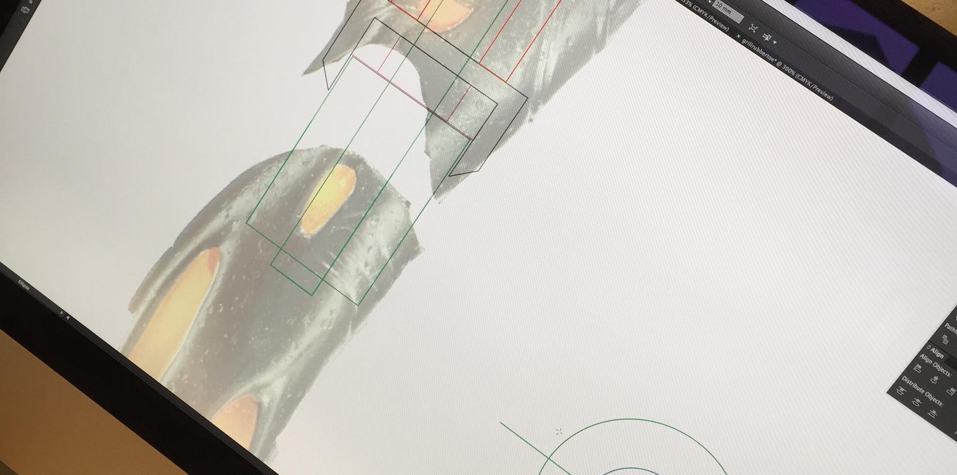 Designing the internal pivot mechanism.