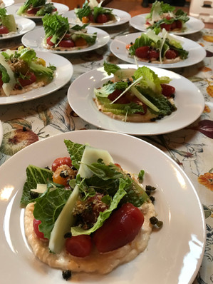 Tomato Caesar Salad