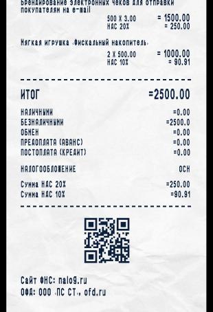 Ставку НДС можно будет не печатать в чеке при расчетах с физлицами – приказ ФНС