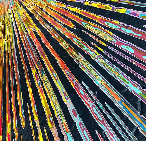 Jason Hallman Speed of Light 62x62 detai