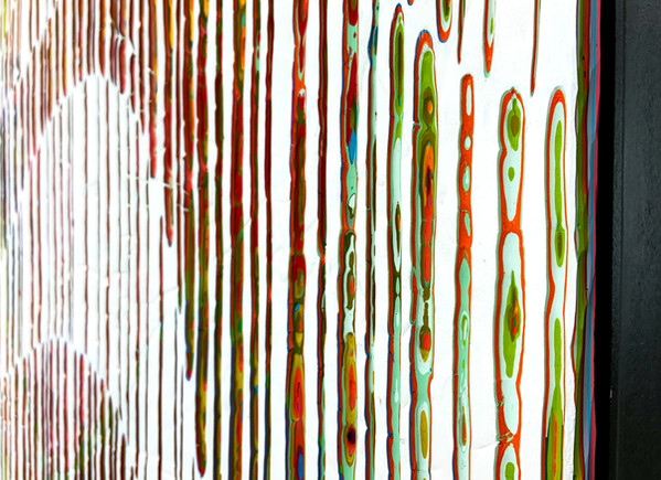 Jason Hallman Reaching In The Rain 42x60