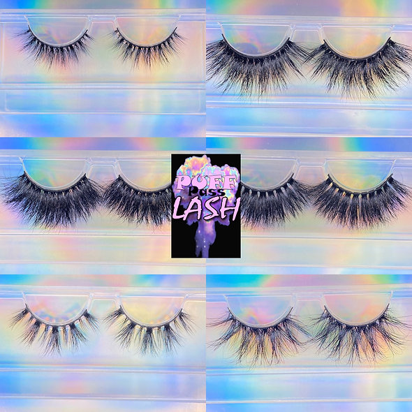6Pack of lashes