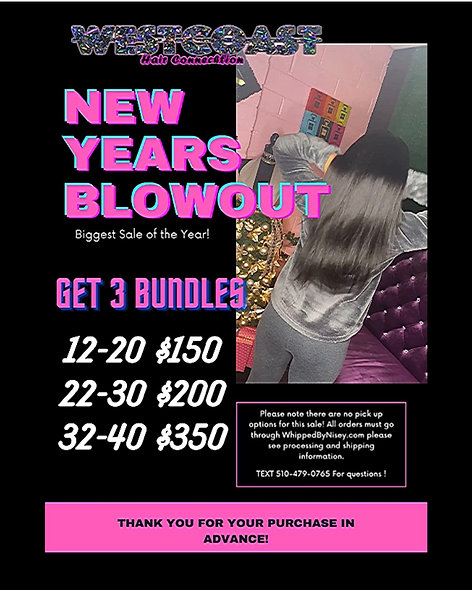 New Years Bundle Blowout