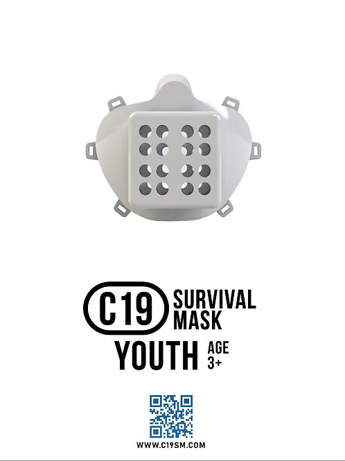 C19 Survival Mask Youth