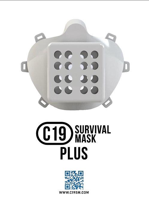 C19 Survival Mask Plus