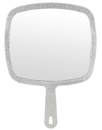 Kodo Silver Glitter Hand Mirror