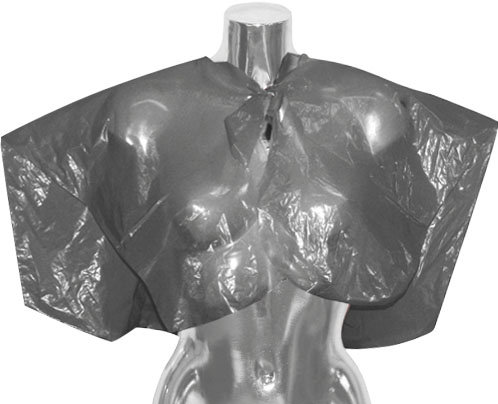 DMI Black Disposable Shoulder Cape