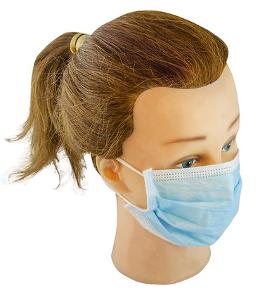 Loop Fastening Disposable Face Mask Box of 50