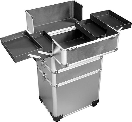 DMI 3-Tier Alu Case Silver Matt