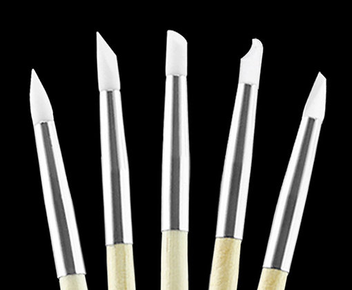 Kodo Silicone Nail Art Brush 5 Piece Set