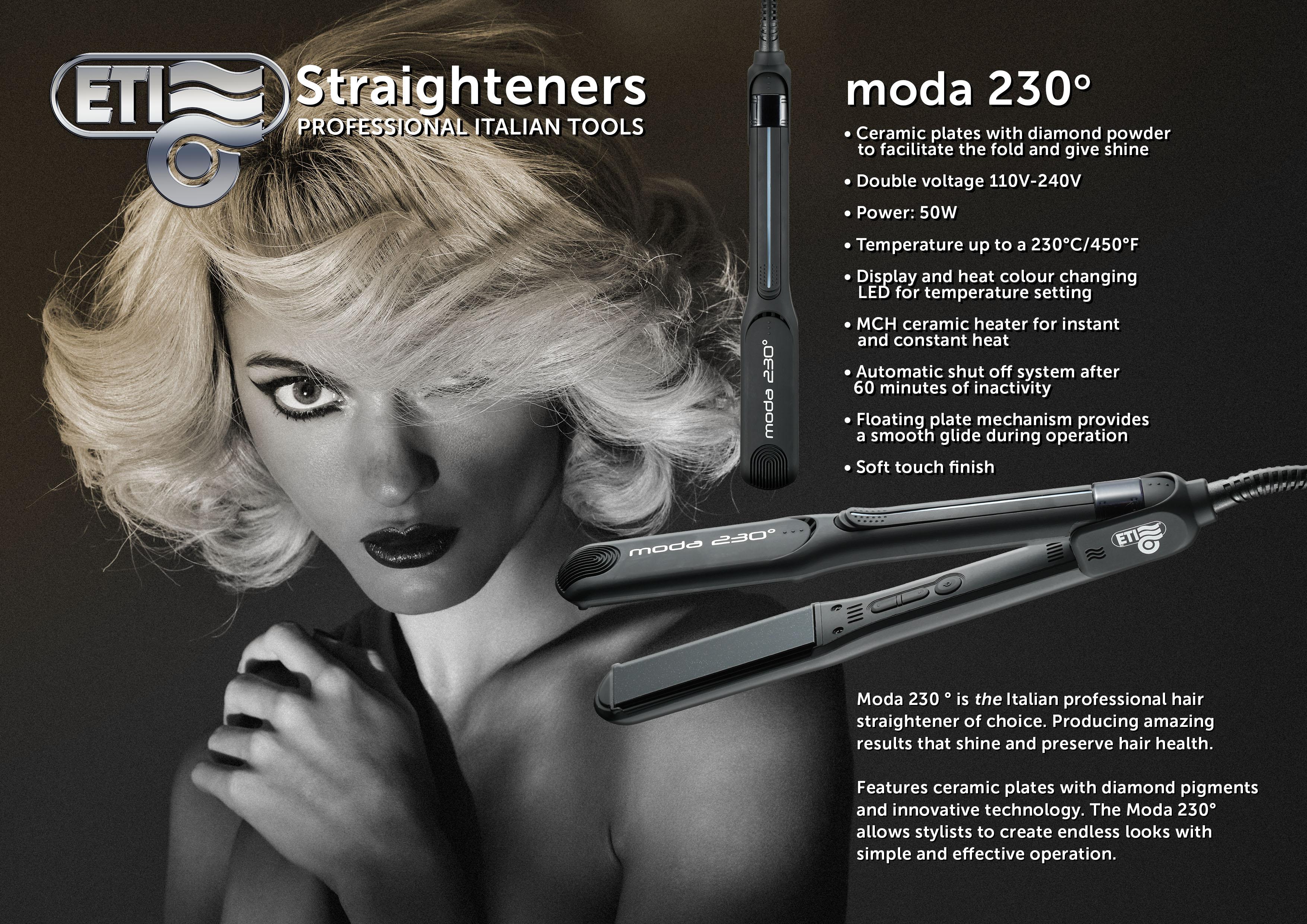 ETI Moda Straighteners