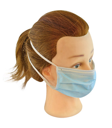 Tie Fastening Disposable Face Masks x 20