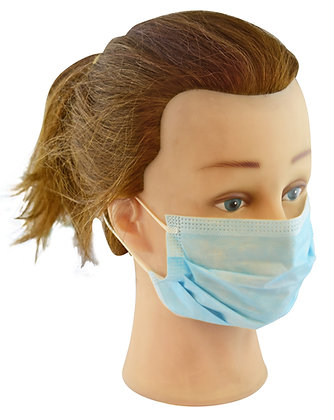 Loop Fastening Disposable Face Masks x 20