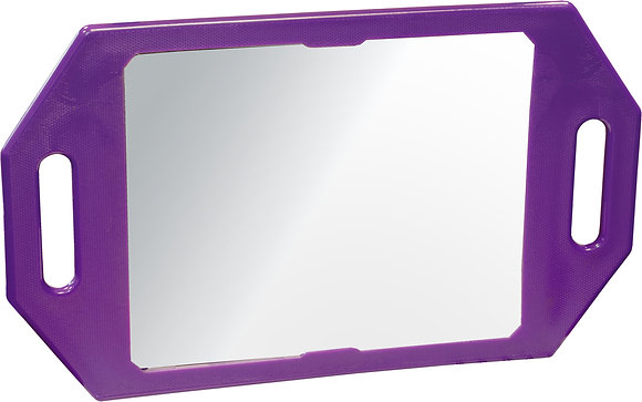 Kodo Purple Two Handed Mirror