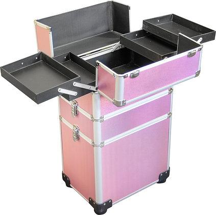 DMI 3-Tier Alu Case Pink Matt