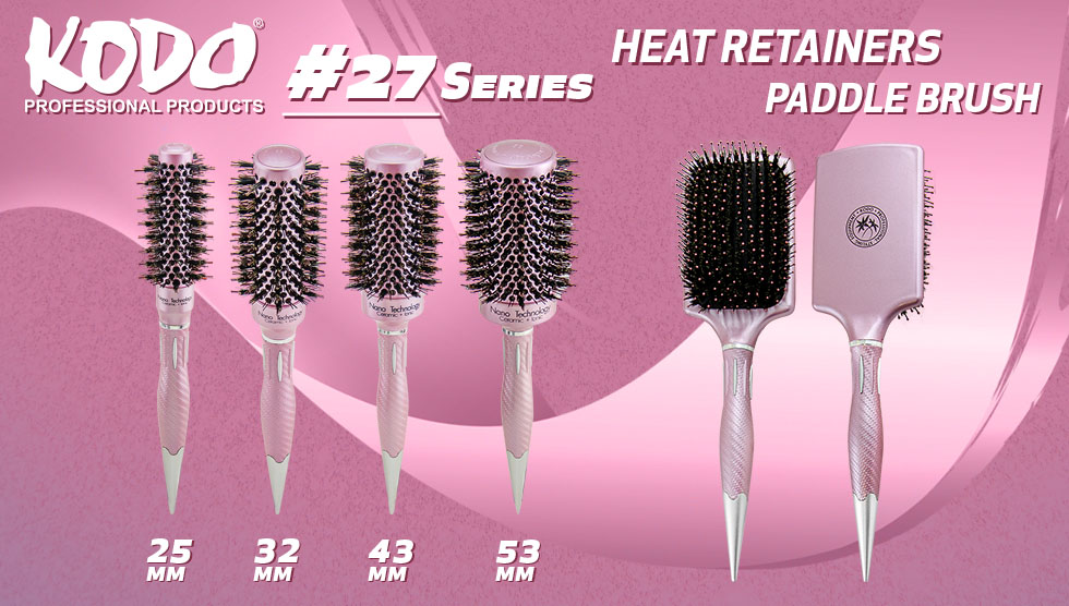 Kodo 27 Series Brushes