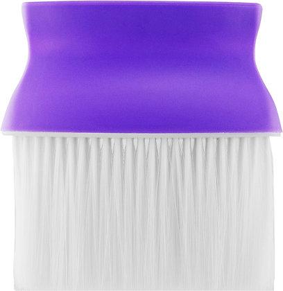 Purple Barber Neck Brush