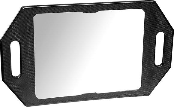 Kodo Black Two Handed Mirror