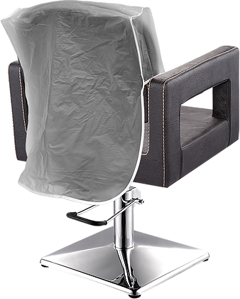 Clear PVC Chair Back Covers