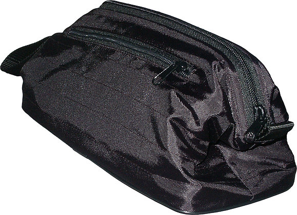 Large Black Cosmetic Bag