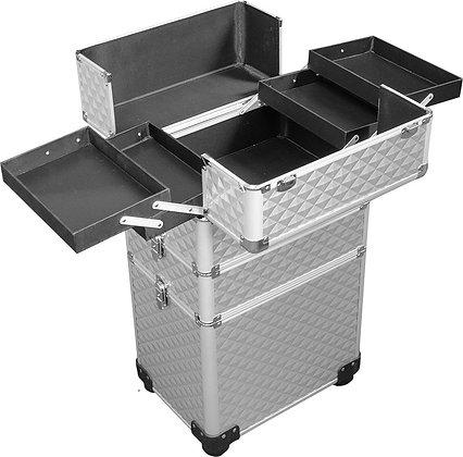 DMI 3-Tier Alu Case Silver Diamond