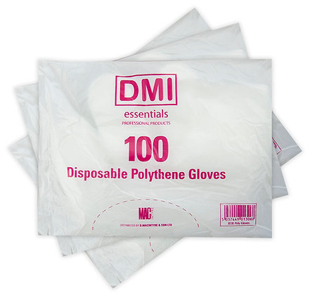 Disposable Polythene Gloves x 100