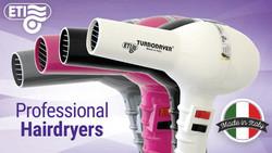 ETI® Professional Hairdryers