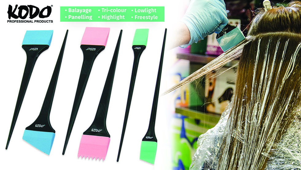 Kodo® Silicone Tint Brushes