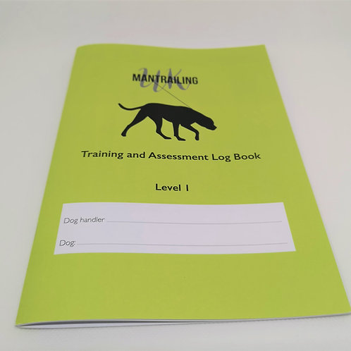 Mantrailing Log Book