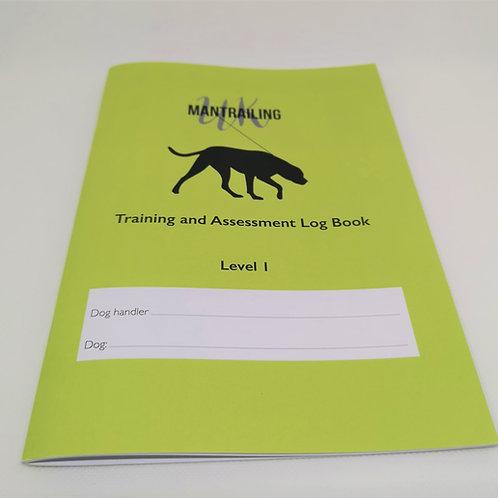 Mantrailing Log Book