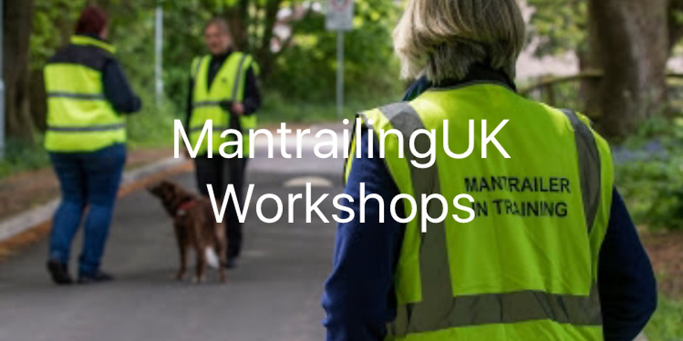 Mantrailing Workshop BOOKED OUT