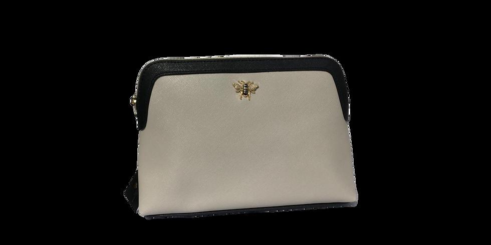 Alice Wheeler Luxury Two Tone Beauty Bag