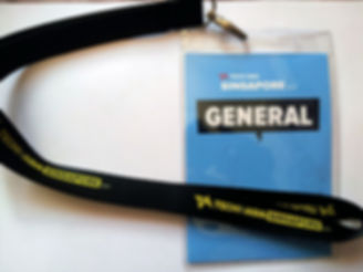 a simple option to reduce plastic waste is to re-use name badges for annual events