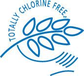 Total Chlorine Free paper label