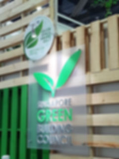 Green Space Award was developed as a way to recognise the efforts of companies that use recyclable materials for booth design.