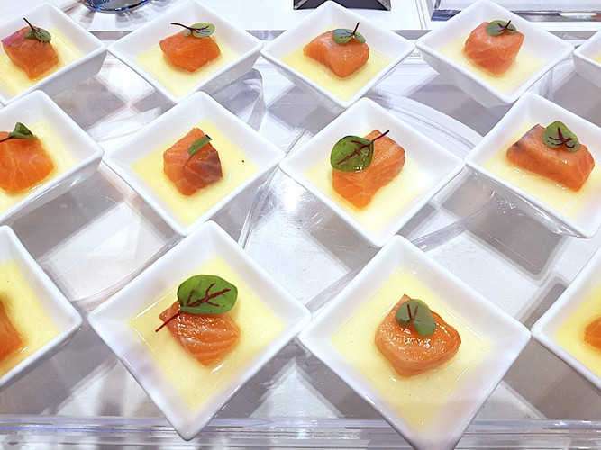 Sustianable menu at RBF 2017