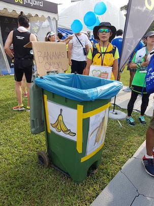 Banana Marshals at StanChart Run.