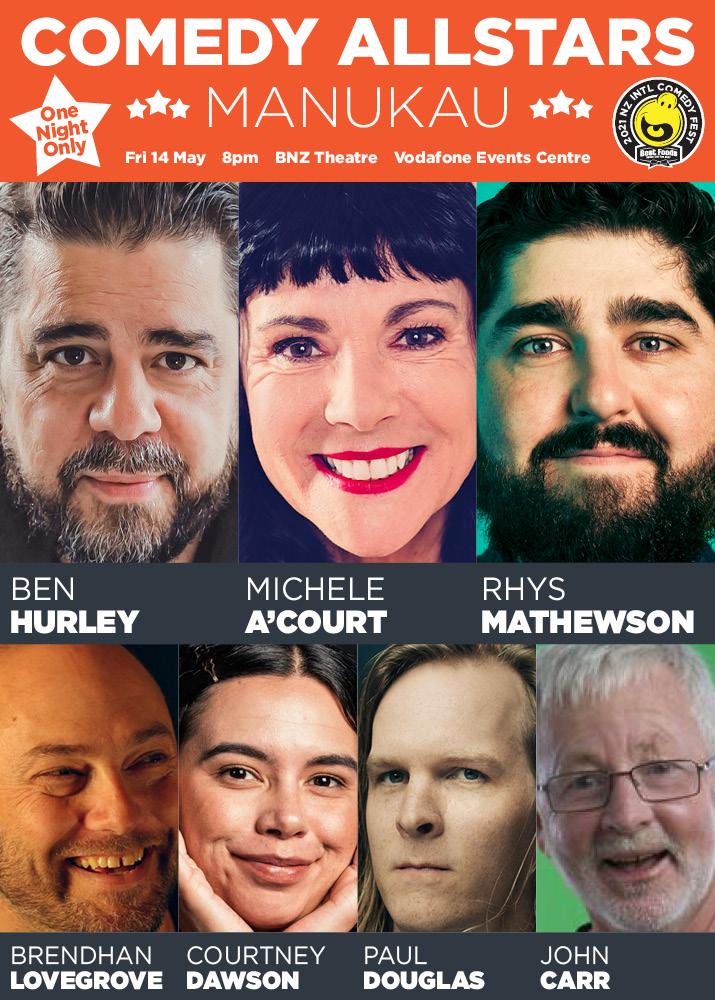 Manukau Comedy All Stars 2021