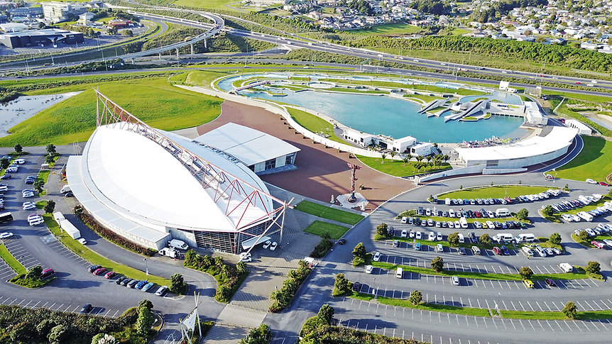 Vodafone Events Centre and Vector Wero Whitewater Park