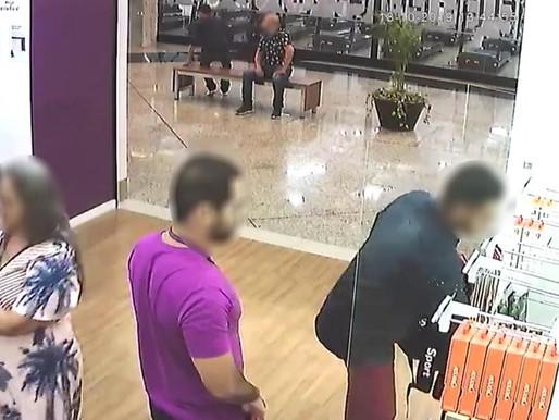 Quadrilha que roubaram uma loja de celulares no Shopping de Lorena/SP são presos em Mogi das Cruzes