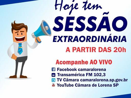 Sessão de Câmara em Lorena
