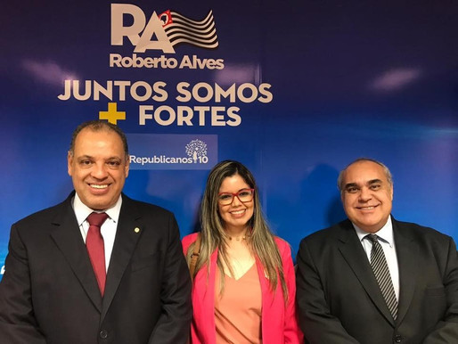 Prefeito de Lavrinhas em Brasília em busca de recursos para o município