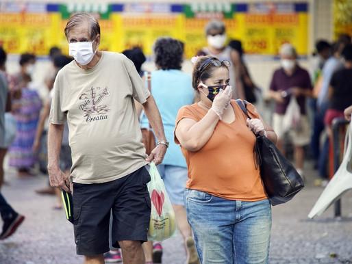 Jacareí começa a fiscalizar nesta segunda-feira obrigatoriedade no uso de máscaras