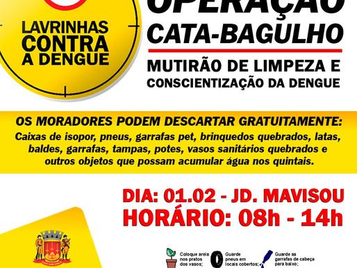 Operação Cata-Babulho em Lavrinhas