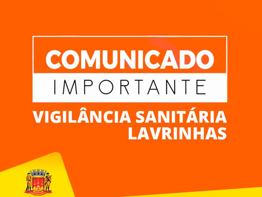 ORIENTAÇÕES DA VIGILÂNCIA SANITÁRIA MUNICIPAL DE LAVRINHAS PARA ESTABELECIMENTOS