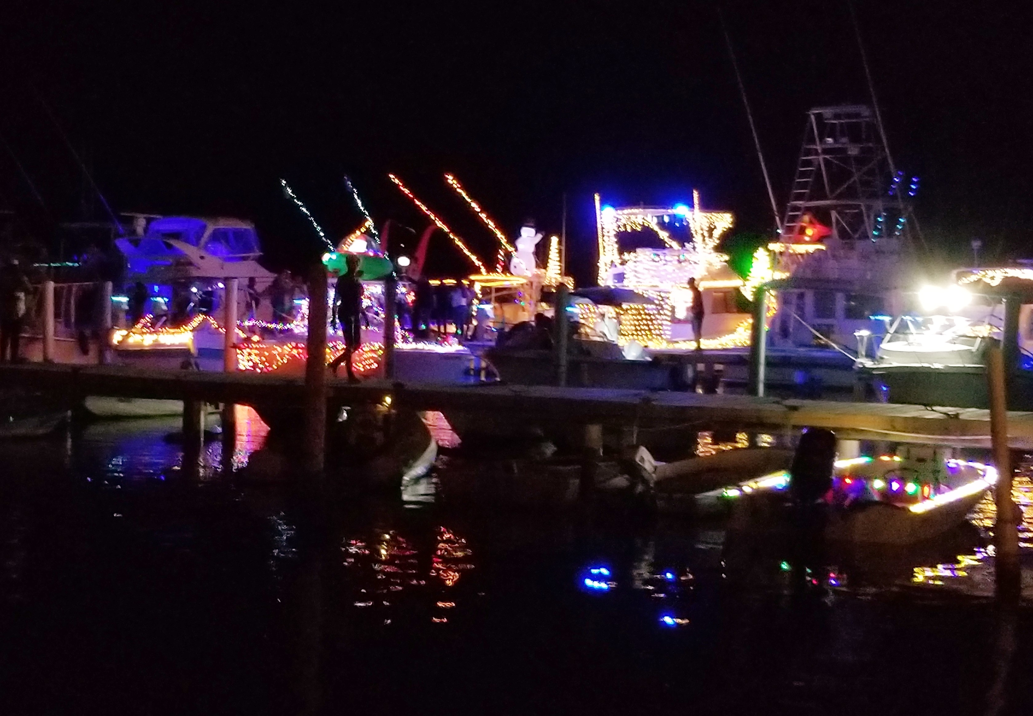 Holiday Boat Parade.