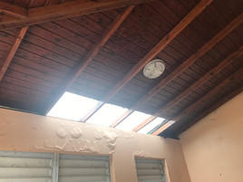 Roof/Ceiling of the porch of hte big house