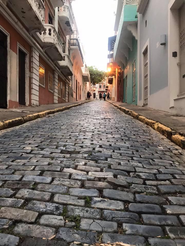 Random lovely Old San Juan Street